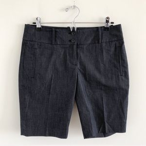 NWT LOFT Stretch Cotton Bermuda Shorts Size 4